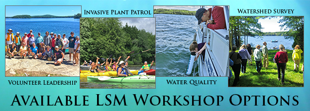Available VLMP workshop options